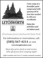 Houghton Letchworth KOA
