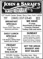 John & Sarah's Family Restaurant